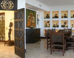 Miami Apartment eclectic-dining-room