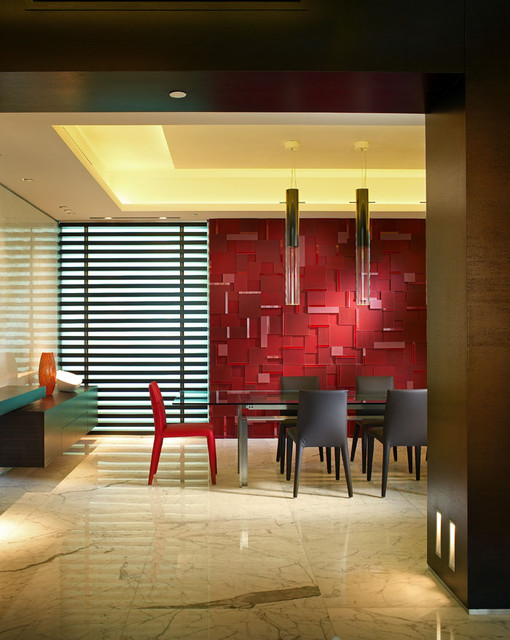 Miami Beach - Apartment by PepeCalderindesign - Miami interior designers -Modern contemporary-dining-room
