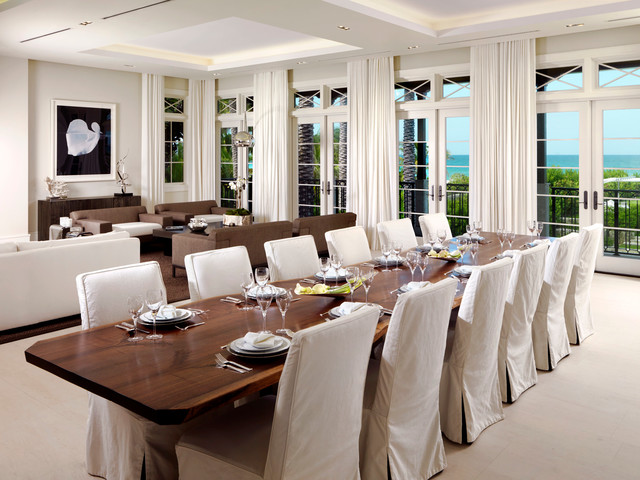 Miami beach private residence contemporary dining room for Best private dining rooms miami