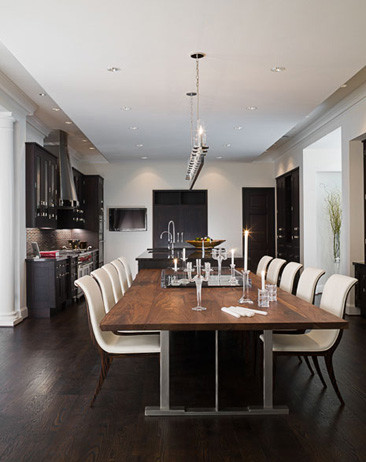 MICHAEL MOLTHAN LUXURY HOMES INTERIOR DESIGN GROUP Modern Dining Room D