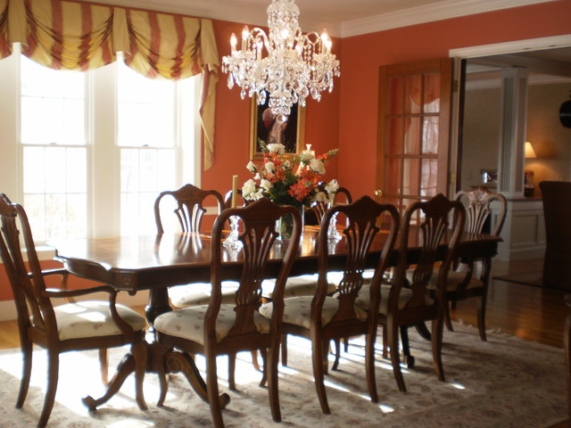 Michele Hagen Staged Diningroom traditional-dining-room
