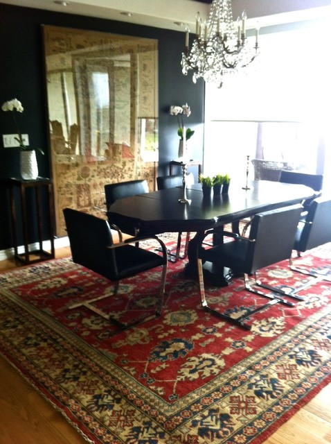 Mid Century Eclectic Contemporary contemporary-dining-room