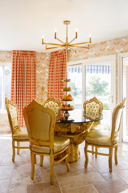 Groovy Mid Century Meets Las Vegas Glam Midcentury Dining Room Andrewgaddart Wooden Chair Designs For Living Room Andrewgaddartcom