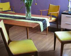 Mid-century modern dining room by Kimball Starr Interior Design midcentury-dining-room