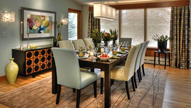 mid century modern dining room modern dining room