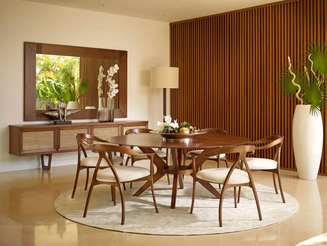 Mid Century Modern Dining Roommidcentury Room Miami