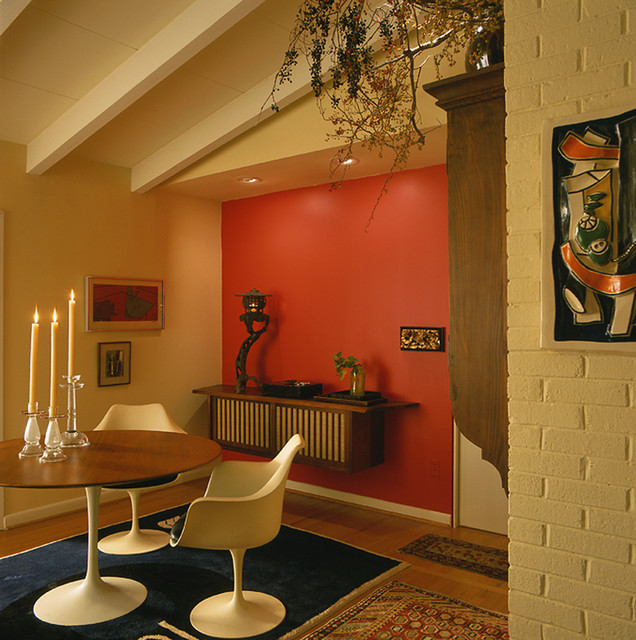 Dining Room Paint Schemes: Mid-Century Modern Home