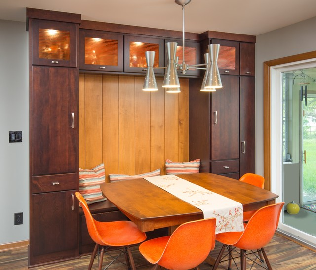 Mid Century Modern Kitchen Remodel Columbus Oh Midcentury Dining Room Columbus By The