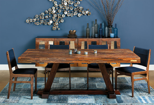 mid century modern dining table. Mid-Century Modern - Max Dining Table Contemporary-dining-room Mid Century H