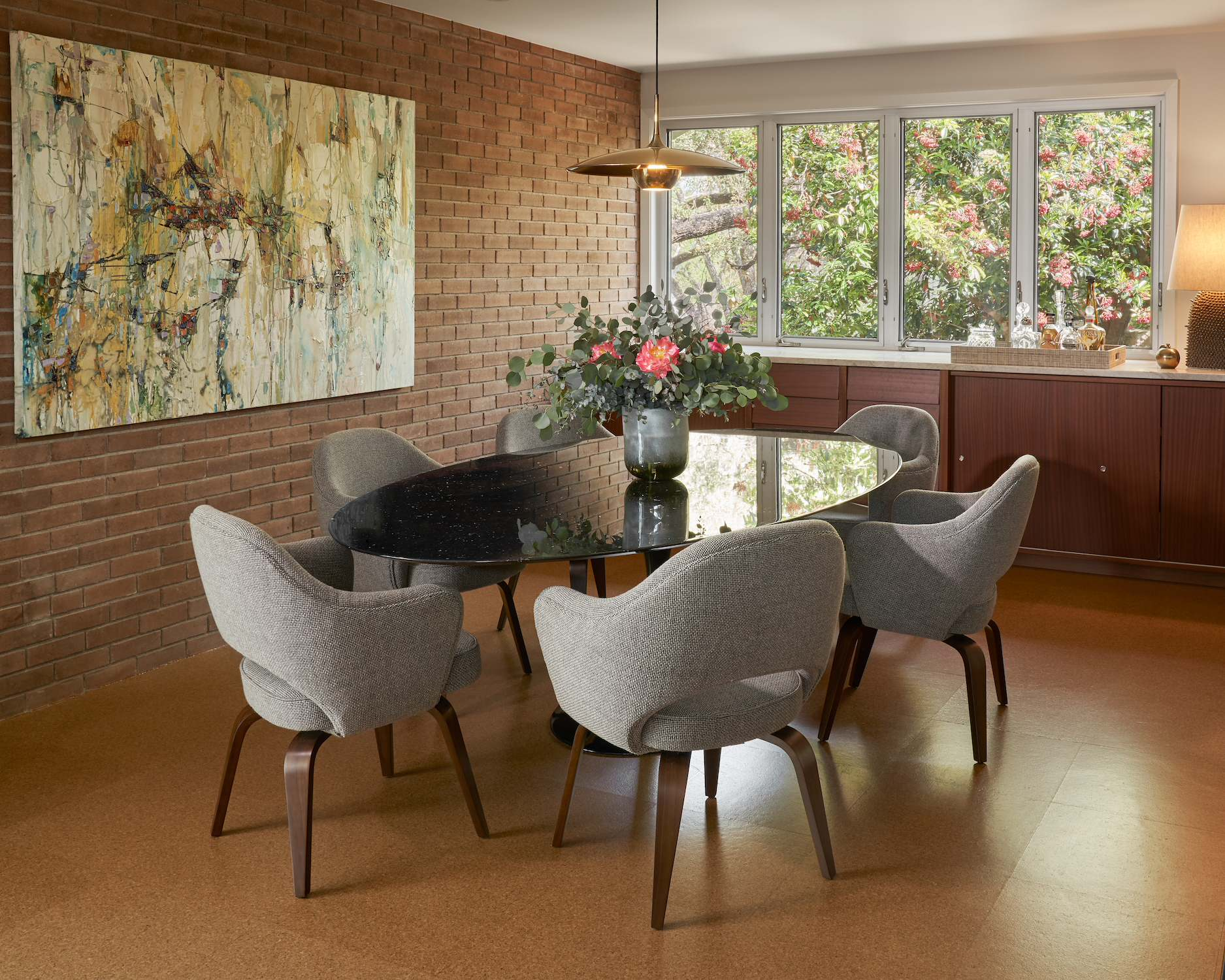 75 Beautiful Mid Century Modern Dining Room Pictures Ideas February 2021 Houzz