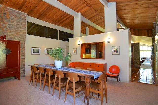 Mid-Century Split-Level - Midcentury - Dining Room - Other ...