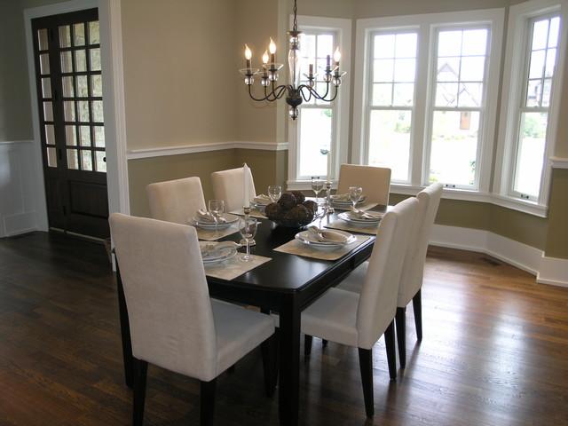 Middlefork custom residence traditional-dining-room