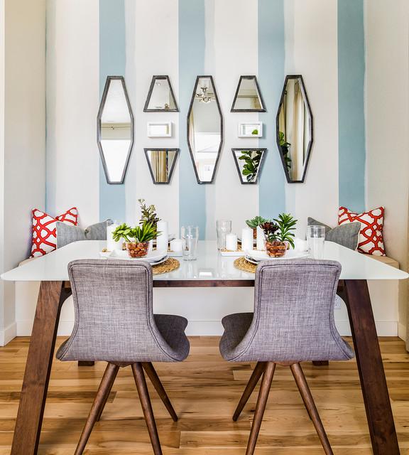 Transitional Dining Room: Transitional