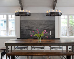 Mill Valley contemporary dining room