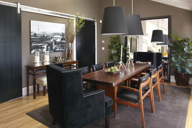 Urrutia Design contemporary dining room