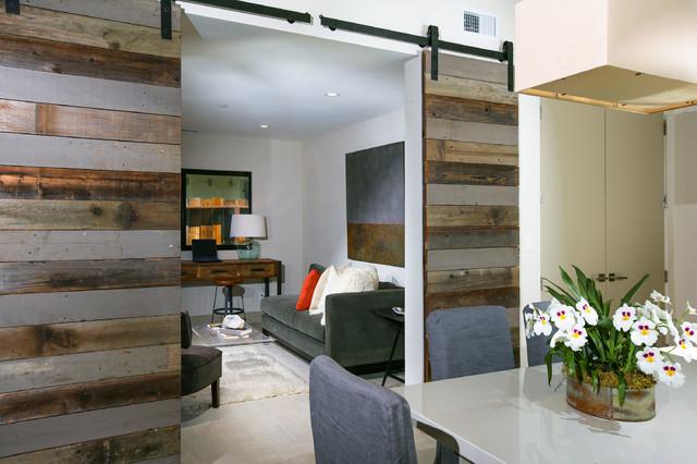 Mill Valley- Loft meets Ranch contemporary-dining-room