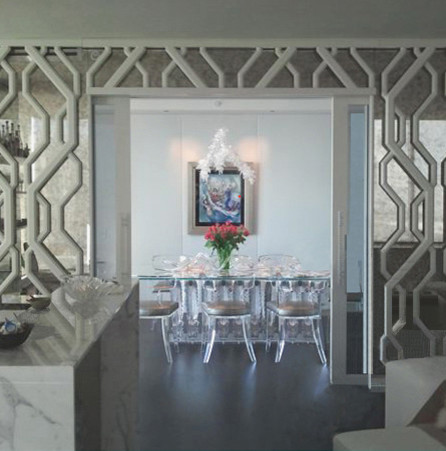 Millennium Tower Pied a' Terre contemporary-dining-room