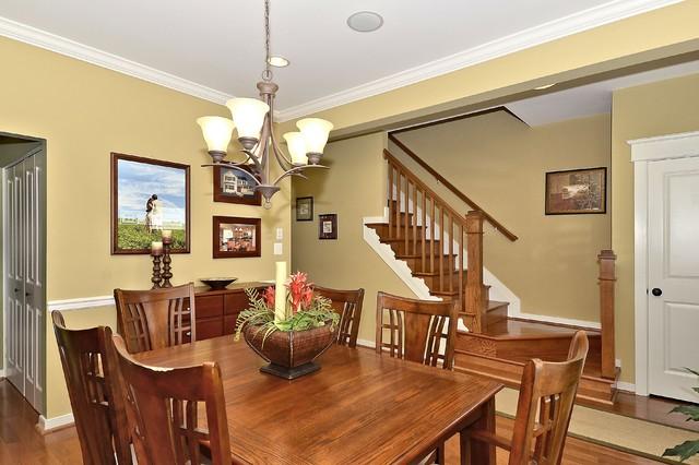 Milligan Model - 1st Floor Master craftsman-dining-room
