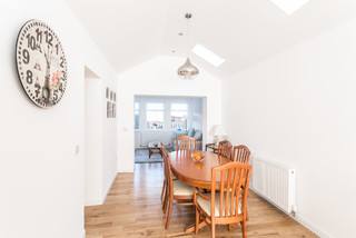 Milton of campsie garage conversion and extension traditional dining room glasgow by sha - Dining room furniture glasgow ...