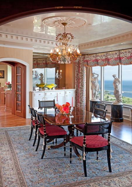 Milwaukee renaissance condo mediterranean dining room