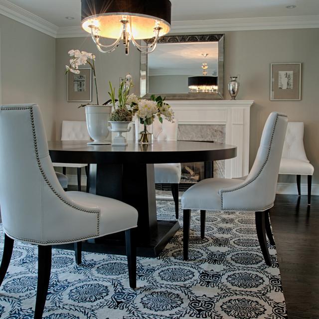 Mineola House contemporary-dining-room