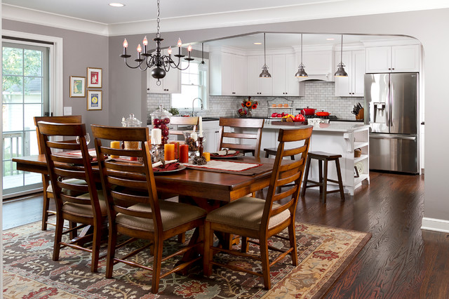 Minneapolis Cape Cod Renovation Traditional Dining