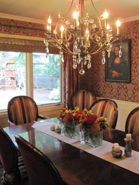 Minneapolis Interior Designer - Traditional Elegance by Tiffany Hanken Design traditional-dining-room