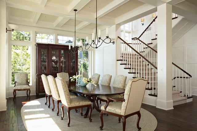 Minnetonka Shingle Style British Colonial Dining Room