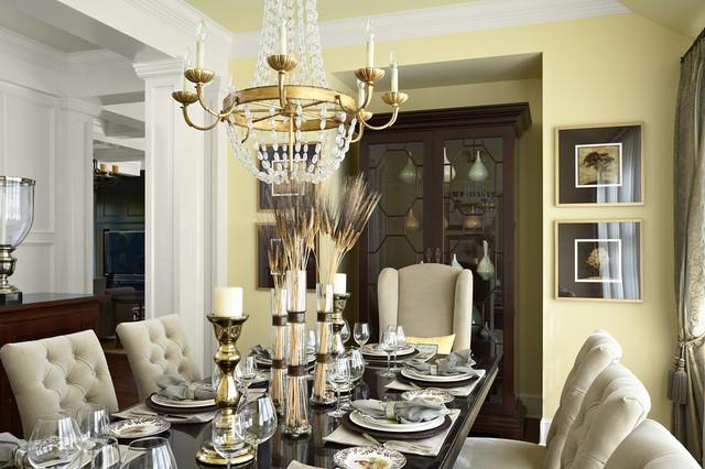 Mint Interior Design Murphy Co Transitional Dining Room