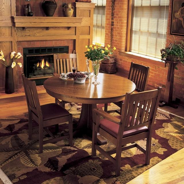 Mission Dining craftsman-dining-room