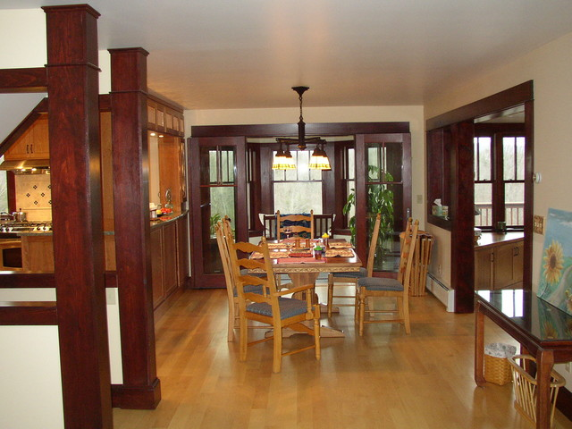 Mission Style Dining Area