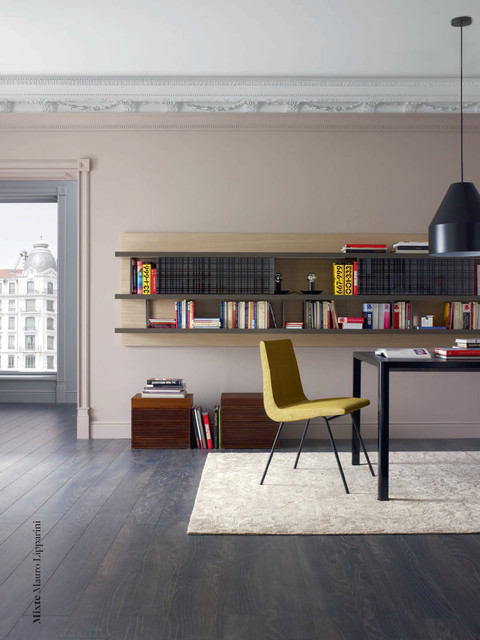 mixte modular wall unit by ligne roset contemporary dining room chicago by ligne roset. Black Bedroom Furniture Sets. Home Design Ideas
