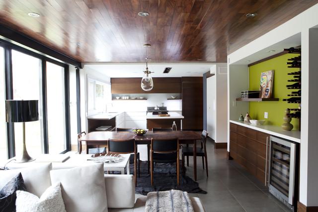 Mod Redux contemporary-dining-room