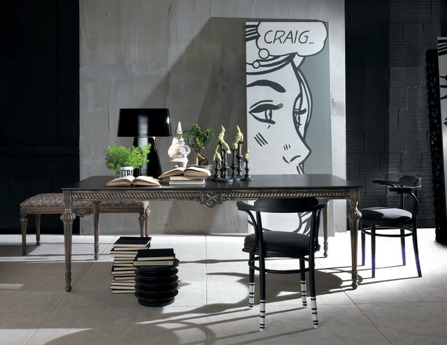 Moda Collection On Imagine Living Eclectic Dining Room
