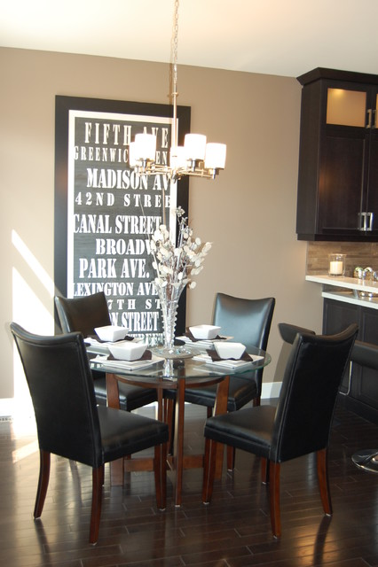 Model Home contemporary-dining-room