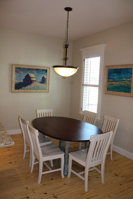 model home project beach style dining room other by maison et