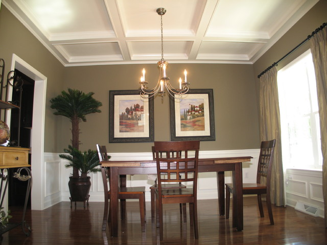 Model Home Willow Bend Farm Traditional Dining Room Philadelphia By