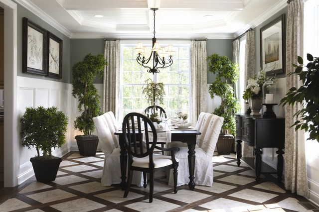 Model homes for Model home dining room