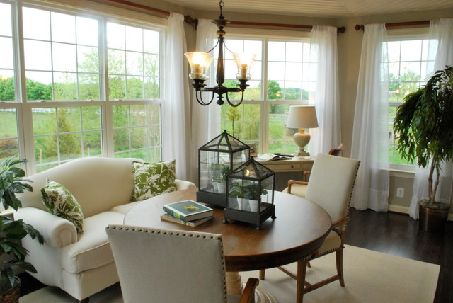 model homes traditional dining room richmond by