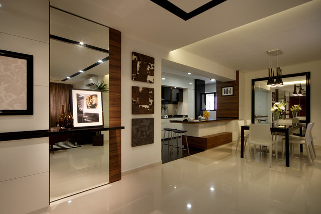 Modern Apartment In Singapore With A Clean Design Modern