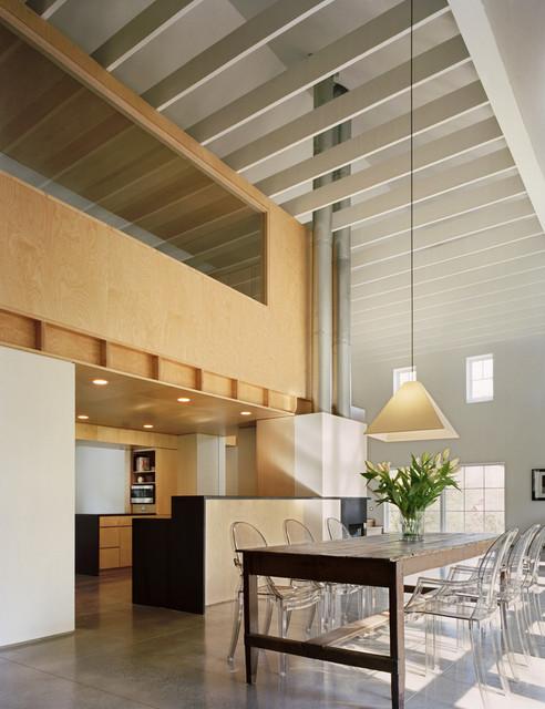 Modern Barn Dining Room contemporary-dining-room
