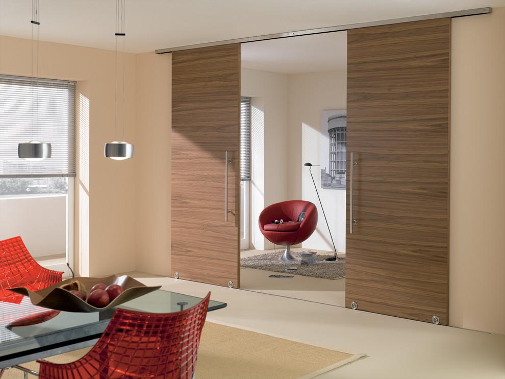 Modern Barn Door Hardware Midcentury Dining Room Miami By Bartels Doors Hardware