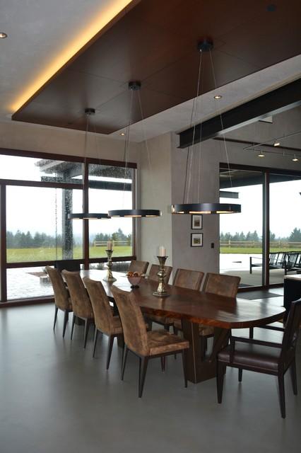 Modern Barn contemporary-dining-room