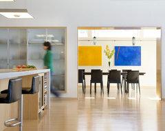 Modern Beach Home Dining Entry modern-dining-room