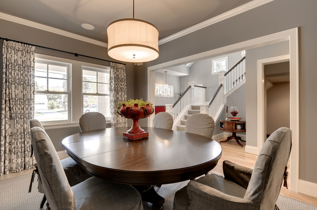 bungalow dining room   Modern Bungalow - Traditional - Dining Room - Minneapolis ...