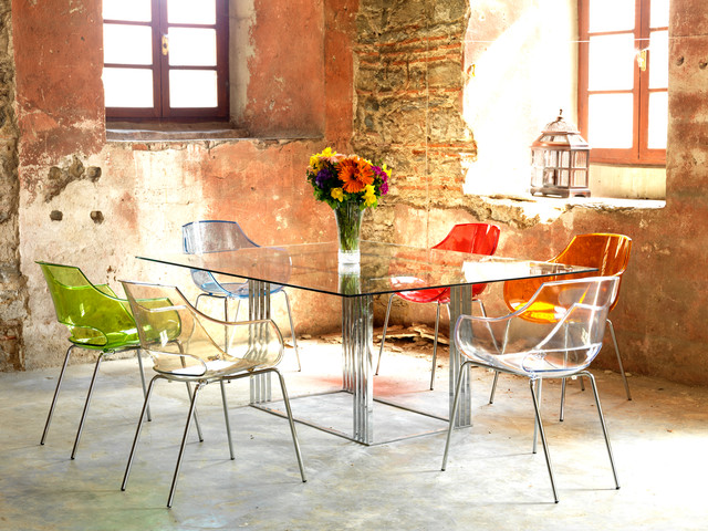 Modern Rustic Dining Room Chairs modern chairs - rustic - dining room - london -imagine living