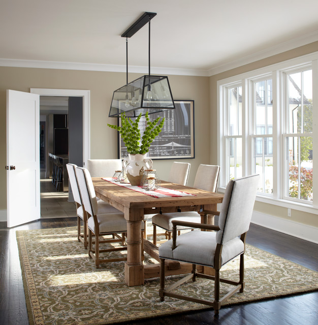 Modern Classic - Transitional - Dining Room - New York - by DeGraw ...