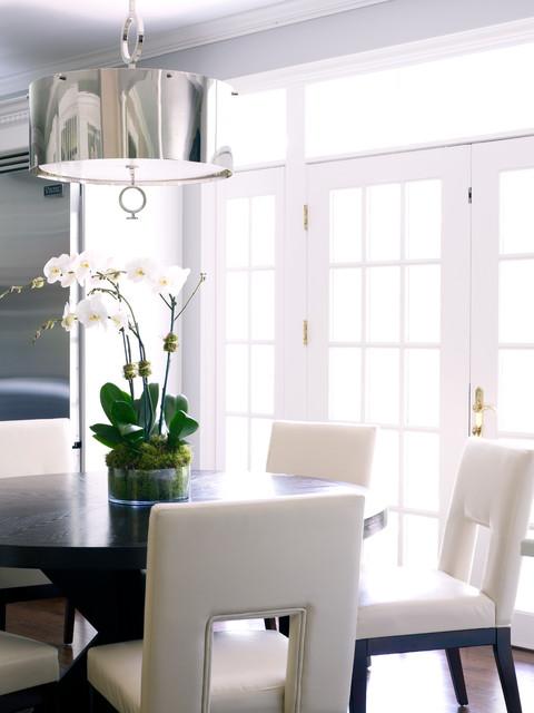 Modern Classic Interiors Modern Dining Room New York