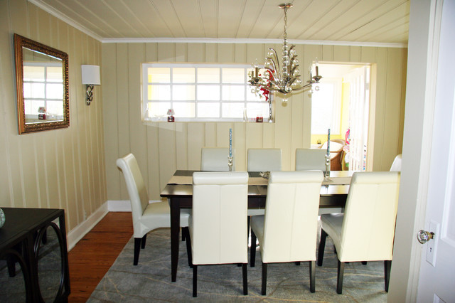 modern cottage contemporary dining room new york