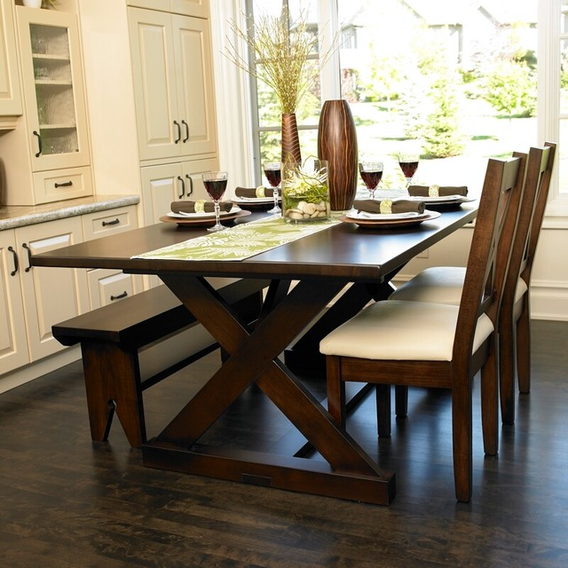 Modern country interiors furniture design traditional for New traditional dining room